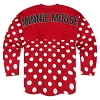 Disney Girls Shirt - Disney World Spirit Jersey - Minnie Polka Dot