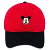 Disney Baseball Cap - Mickey Mouse Two-Tone - Red Black