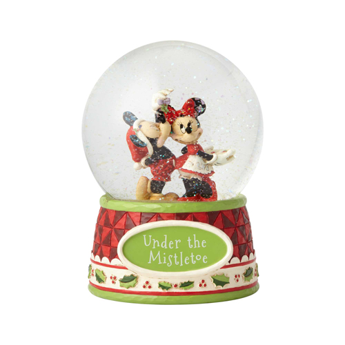 Disney Traditions by Jim Shore Snowglobe - Mickey and Minnie Mouse