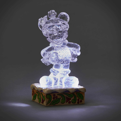 Disney Traditions by Jim Shore - Light Up Ice Bright Mickey Mouse