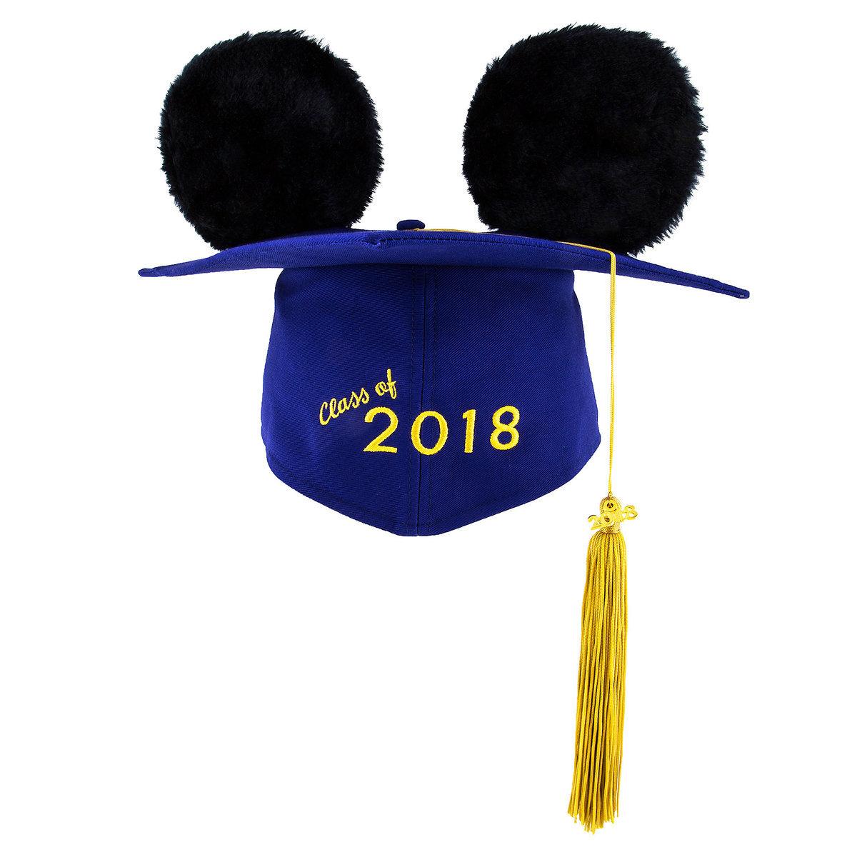 Disney Ear Hat Graduation Cap - Class of 2018