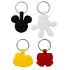 Disney Keychain Set - Mickey Icons - Icon Glove Shoe Shorts