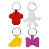Disney Keychain Set - Minnie Icons - Icon Glove Shoe Bow