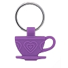 Disney Keychain - Tea Party Tea Cup - Silicone