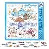 Disney Puzzle - Discover The Magic - Four Parks Icons 1000 pc.