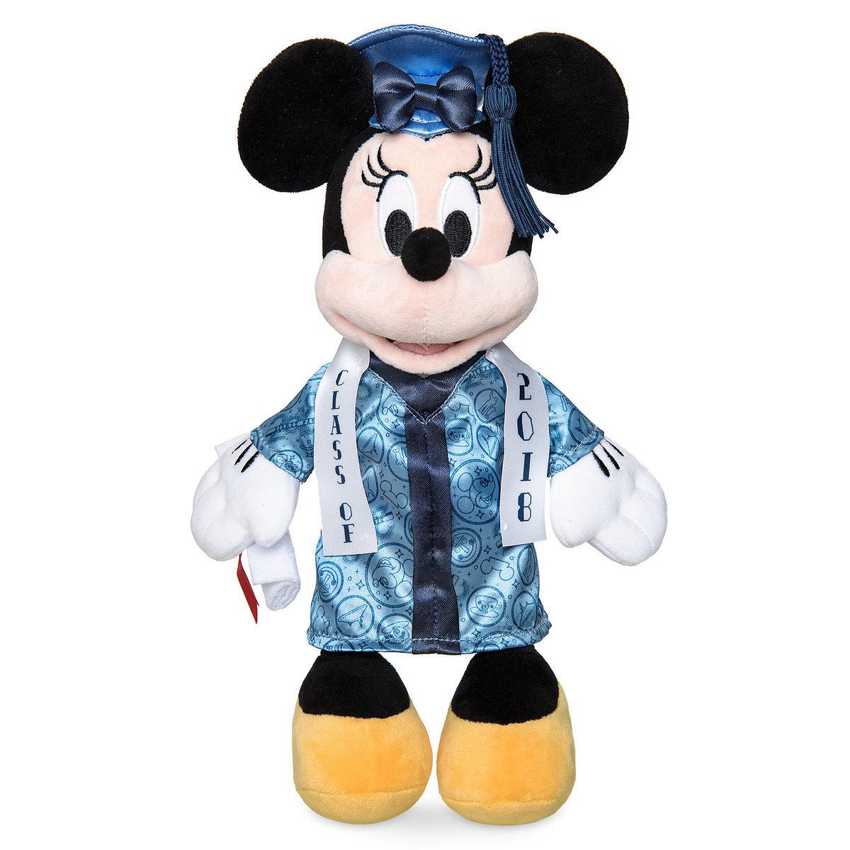 Disney Plush Graduation Minnie Class Of 2018 Wdw Store Mickey Icon Pin Circuit Board Mouse