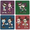 Disney Magnet Set - Mickey & Minnie Mouse Coffee Magnet Set