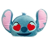 Disney Plush Emoji Pillow - Stitch - Medium