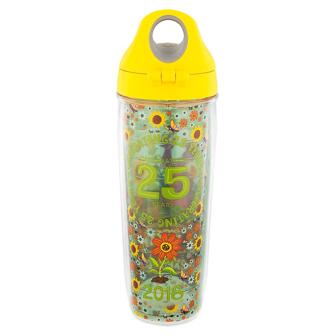 disney tervis water bottle - 2018 epcot flower and garden festival - figment