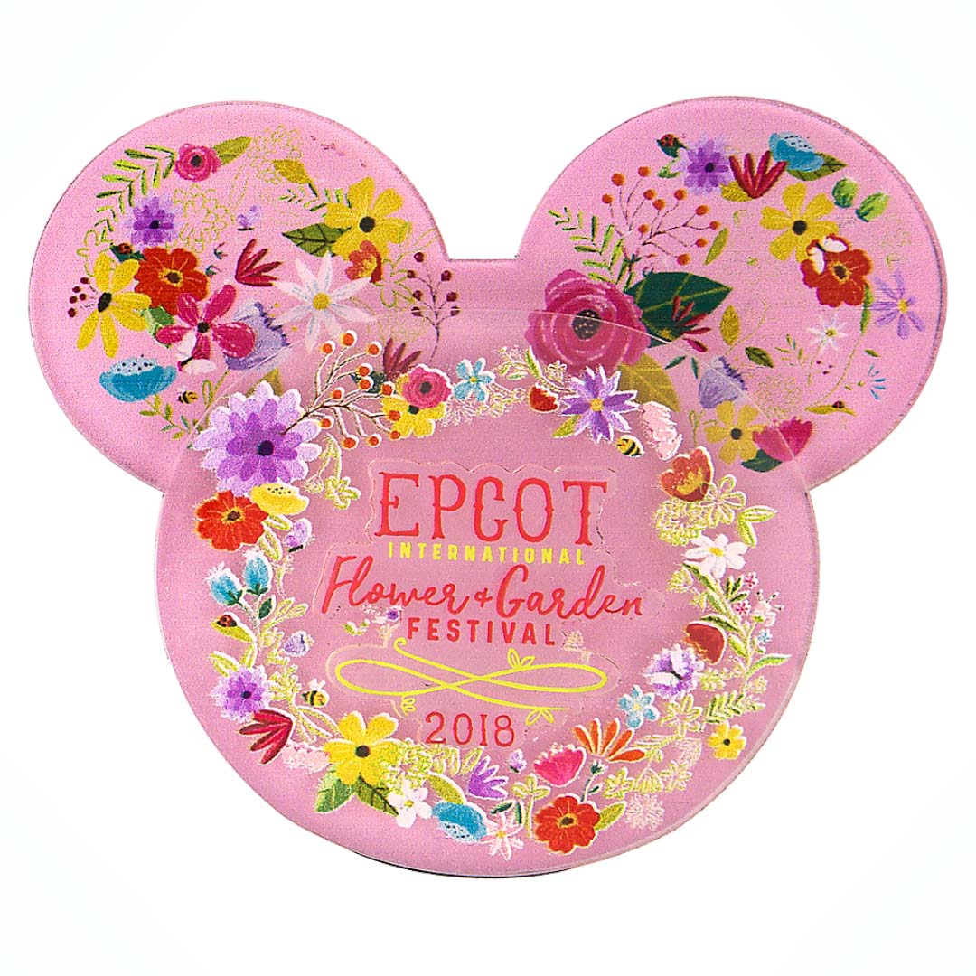 Disney Magnet - 2018 Epcot Flower And Garden Festival Ears Icon