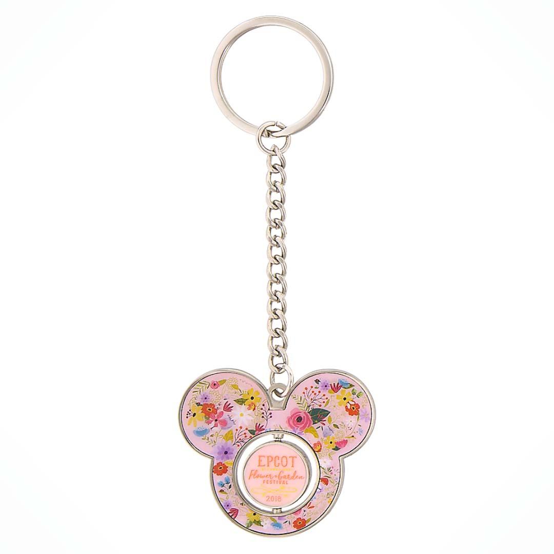 disney keychain - 2018 epcot flower and garden festival - mickey ears
