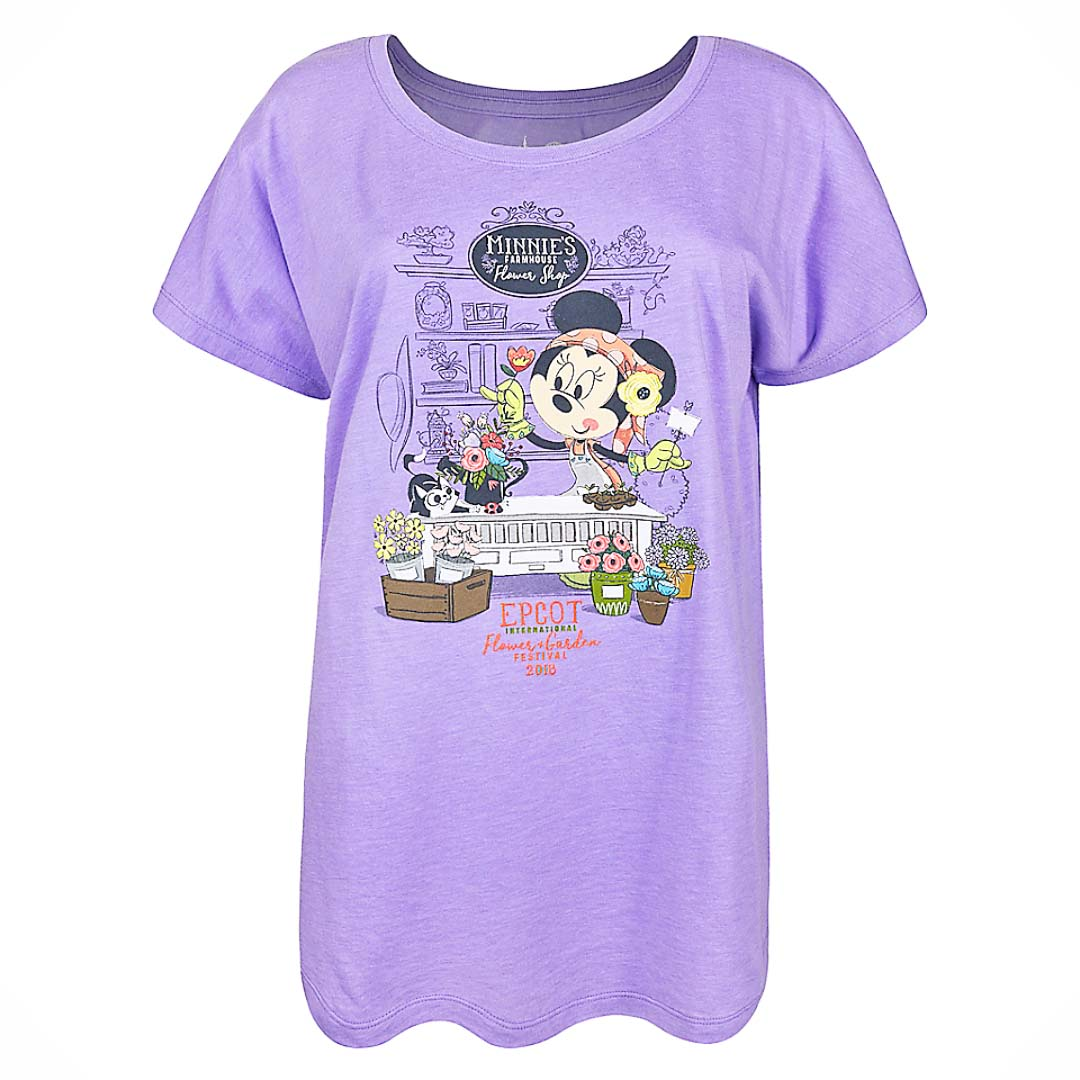 Disney Baby Girl Disney Baby Clothes Epcot Shirt Minnie Mouse Shirt Disney Minnie Mouse Epcot Flower And Garden Festival