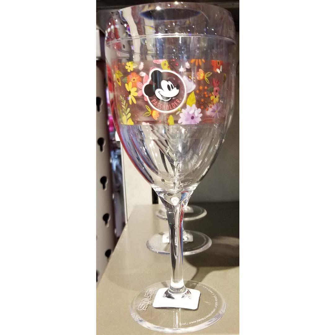 disney tervis wine glass - 2018 epcot flower and garden passholder