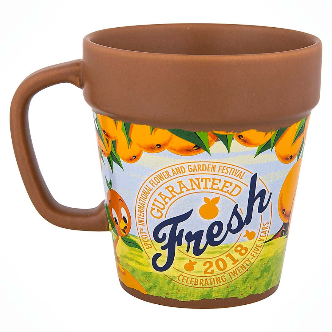 disney coffee cup - 2018 epcot flower and garden festival - mickey
