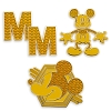 Disney 3 Pin Set - Mickey Mouse Memories - Golden Legacy