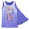 Disney Girls Shirt - Anna Tank Top with Cape