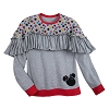 Disney Boutique Shirt - Rocks the Dots - Ruffled Top Grey