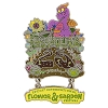 Disney Flower and Garden Festival Pin - 2018 Passholder Figment 25th Logo