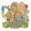 Disney Flower and Garden Festival Pin - 2018 Three Caballeros Topiary