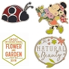 Disney 4 Pin Set - 2018 Epcot Flower and Garden Festival - Minnie