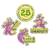 Disney 4 Pin Set - 2018 Epcot Flower and Garden Festival - Figment