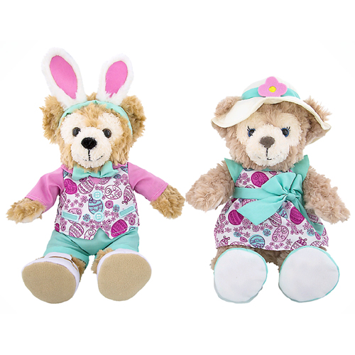Disney Plush - Disney Duffy & ShellieMay Easter Plush Set 9