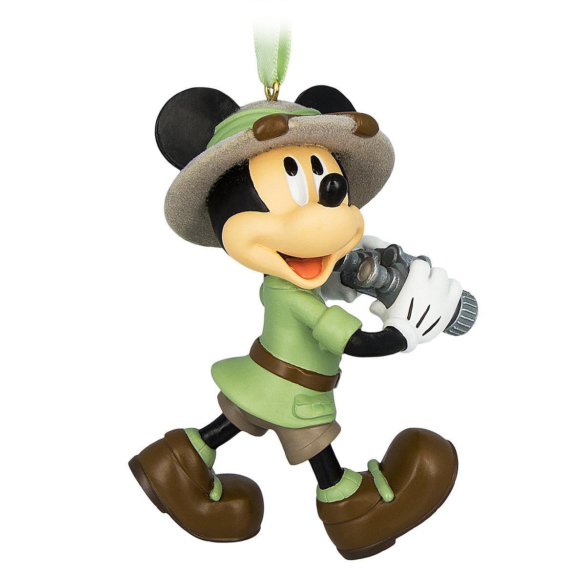 Disney Ornament - Safari Mickey Mouse