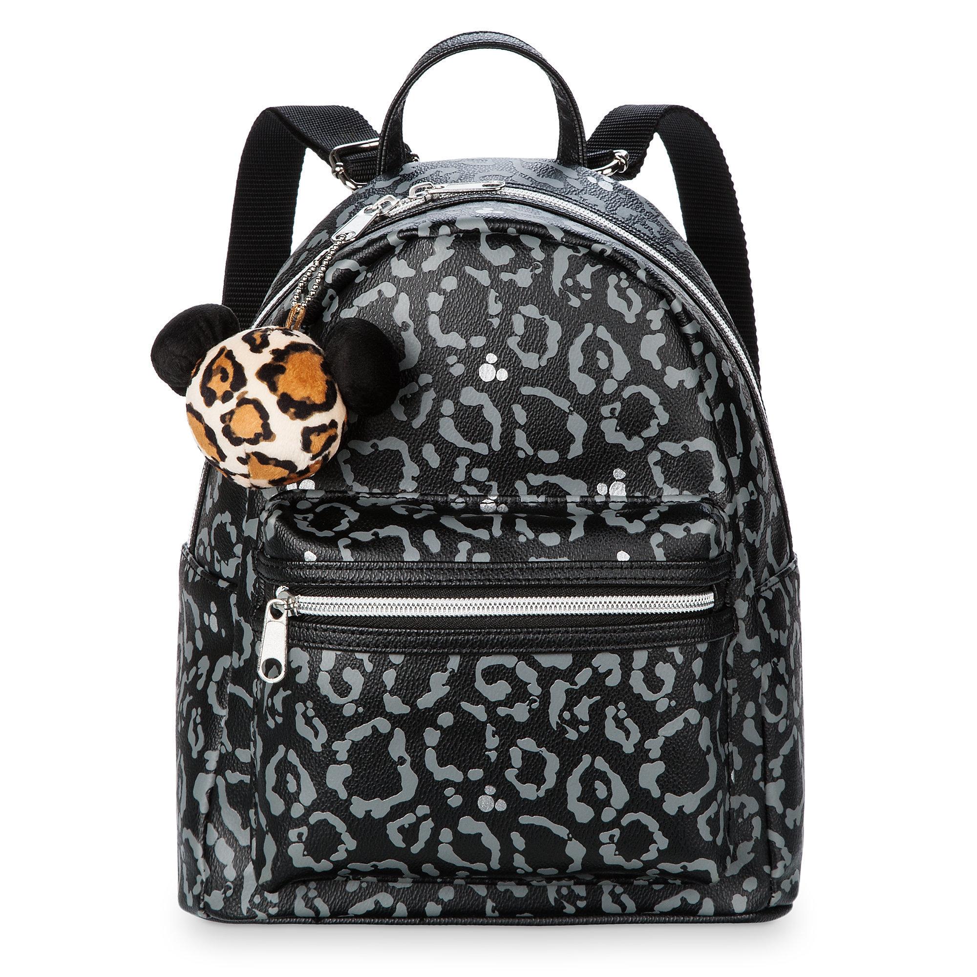 Disney Mini Backpack Mickey Mouse Animal Print