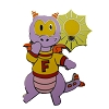 Disney Figment Pin - Cute Figment With a Bright Idea
