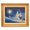 Disney Artist Print - Larry Dotson - The Magic of Elsa - Frozen including Olaf - Gold