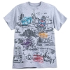 Disney Adult Shirt - 2018 Walt Disney World Attractions Tee