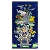 Disney Beach Towel - Safari Mickey Mouse and Friends - Navy