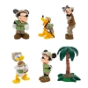 Disney Figurine Set - Safari Mickey Mouse and Friends