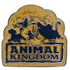 Disney Animal Kingdom Pin - Lion King Friends Logo