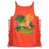 Disney Girls Shirt - Nala Fringed Tank Top - Animal Kingdom