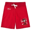 Disney Girls Shorts - Minnie Mouse Heart Knit - Red
