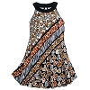 Disney Girls Dress - Mickey Mouse Animal Print