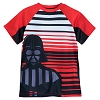Disney Boys Shirt - Darth Vader Striped T-Shirt