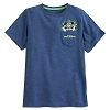 Disney Boys Shirt - Animal Kingdom - Mickey Pocket T-Shirt