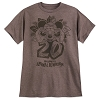 Disney Adult Shirt - Mickey Animal Kingdom 20th Anniversary - Brown