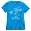 Disney ADULT Shirt - Mickey Mouse Walt Disney World - Blue