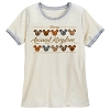 Disney Women's Shirt - Animal Kingdom - Animal Print Mickey Icons