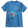Disney Adult Shirt - Disney World Mickey Stamp T-Shirt