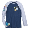 Disney Men's Shirt - Magic Kingdom Raglan T-Shirt