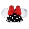 Disney Ear Hat - Silver Polka Dot - Minnie Mouse - Sequin