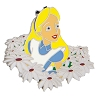 Disney Alice In Wonderland Pin - Alice in Daisies Pin