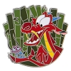 Disney Mulan Pin - Mushu and Cri-Kee