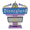 Disney 3D Model Kit - Metal Earth Park Icon - Disneyland Sign