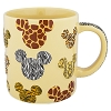 Disney Coffee Cup Mug - Mickey Icon Animal Print