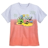 Disney Kids Shirt - Surf Mickey and Friends Dip-Dye T-Shirt